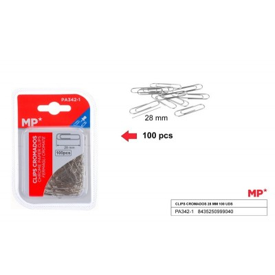 CLIPS 28MM 100PSC