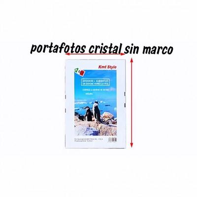 PORTAFOTOS CRISTAL SIN MARCO