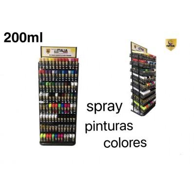 PINTURAS SPRAY COLOR 200ML