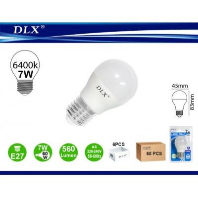 LED.G45 7W E27 6/u
