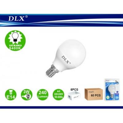 LED.G45 3W E14 6/u