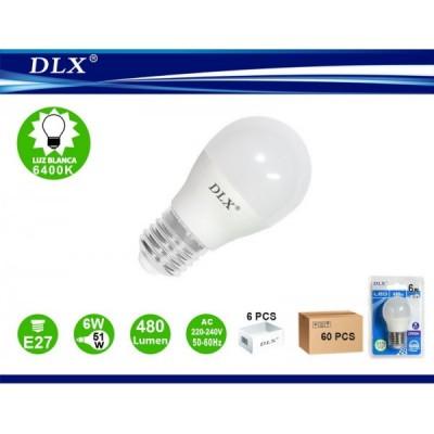 LED.G45 6W E27 6/u