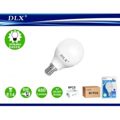 LED.G45 6W E14 6/u
