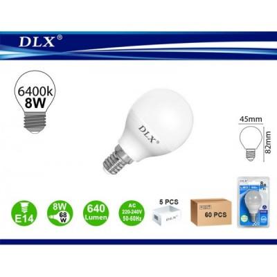 LED.G45 8W E14 6/u